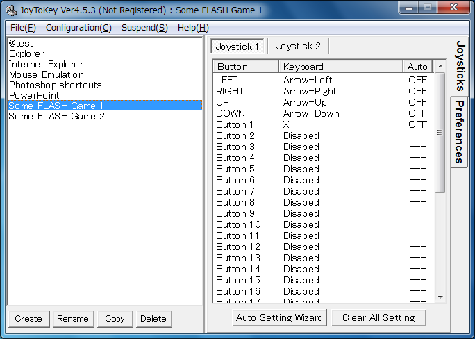 JoyToKey - Basic Features