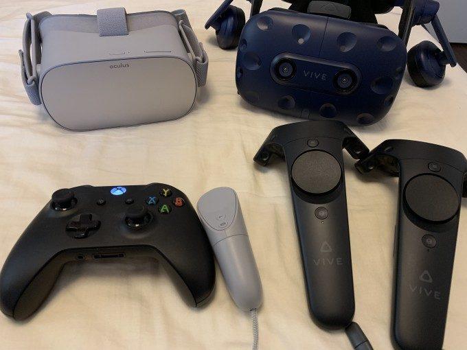 Oculus Go v.s. HTC Vive Pro