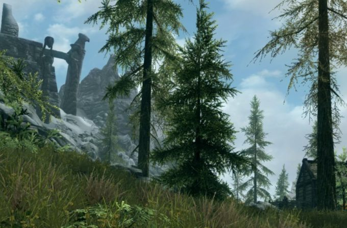 Skyrim Super Sampling 200%