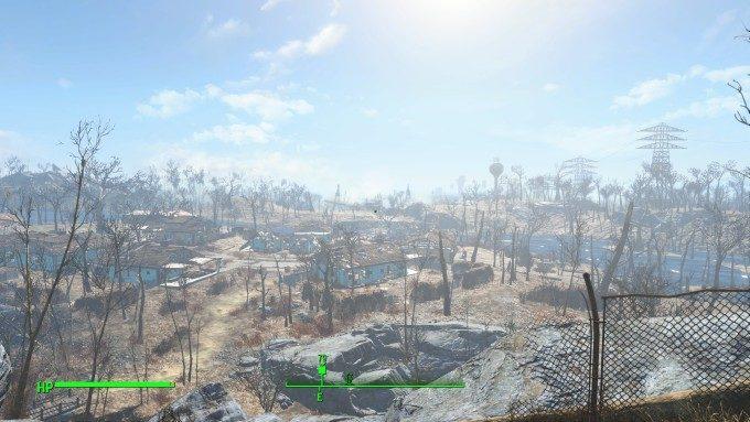 Fallout 4 荒廃した CommonWealth が舞台