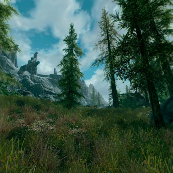 Skyrim VR on Oculus Quest 2