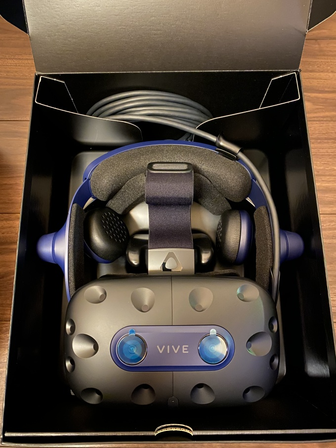 VIVE Pro 2 opened